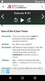 News in Slow Italian