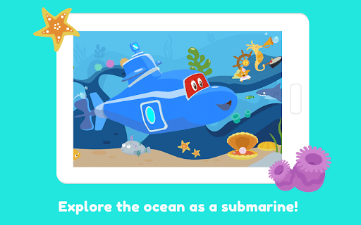Carl the Submarine: Ocean Exploration for Kids  screenshots 9