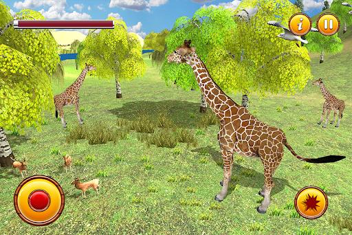 Giraffe Family Life Jungle Simulator apktram screenshots 12