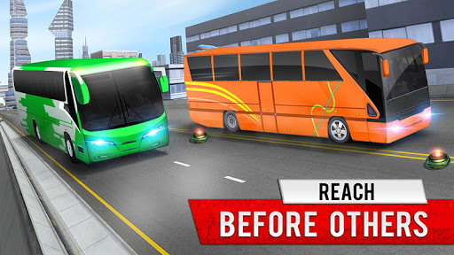 City Coach Bus Simulator 2021 - PvP Free Bus Games  screenshots 6
