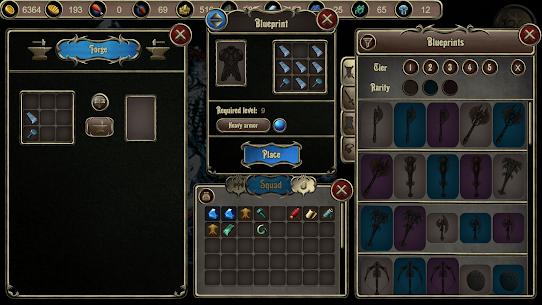 Grim Wanderings 2: Strategic Turn-Based RPG Mod Apk 1.90 (Free Shopping) 3