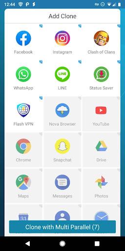 Multi Parallel - Multiple Accounts & App Clone  screenshots 2