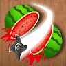 Crazy Fruit Cutter - Juicy Master game apk icon