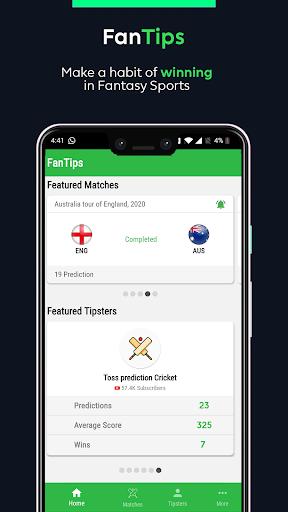 FanTips - Prediction Experts for Fantasy Team apkslow screenshots 3