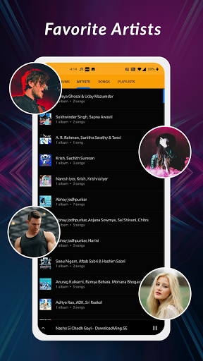 MP3, Offline Music Player apktram screenshots 4