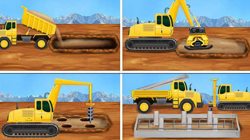 Construction Vehicles - Big House Building Games 1.0.4 screenshots 2
