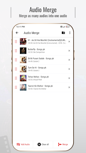 Mstudio: Cut, Join, Mix, Convert, Video to Audio android2mod screenshots 4