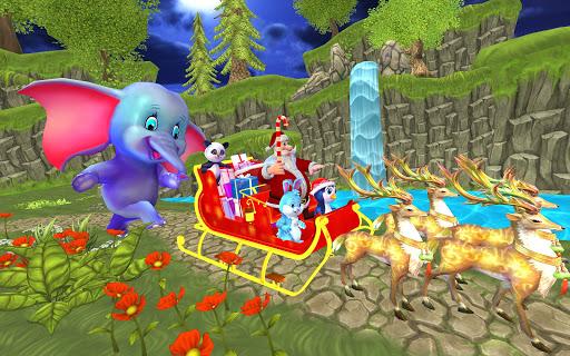 Santa Christmas Infinite Track screenshots 8