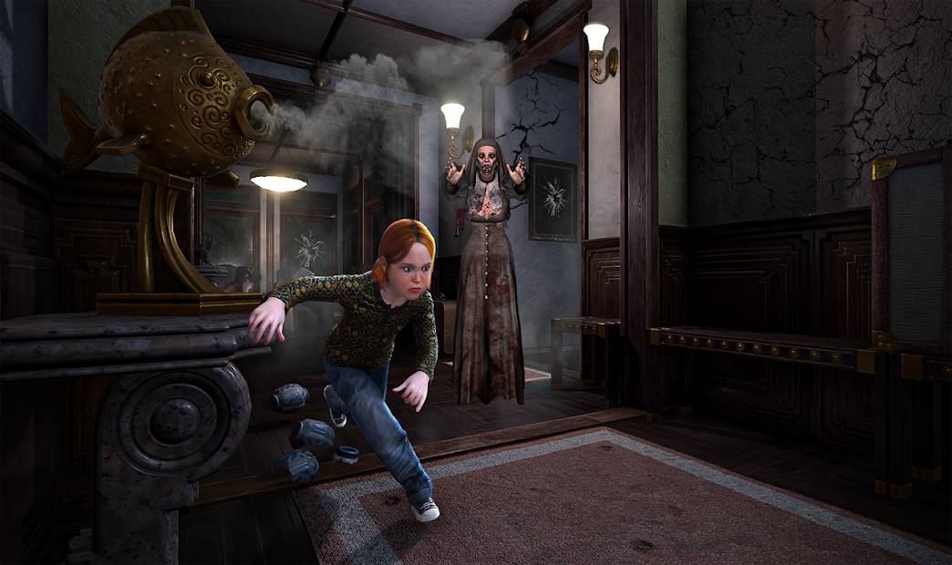 Scary Granny Teacher : Horror Grandma House Escape screenshot 5