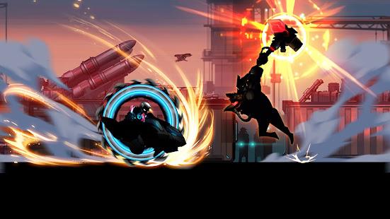 Cyber Fighters: Stickman Cyberpunk 2077 Action RPG - Screenshot 11