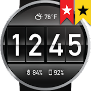 Flip Clock Watch Face for Wear OS  Icon