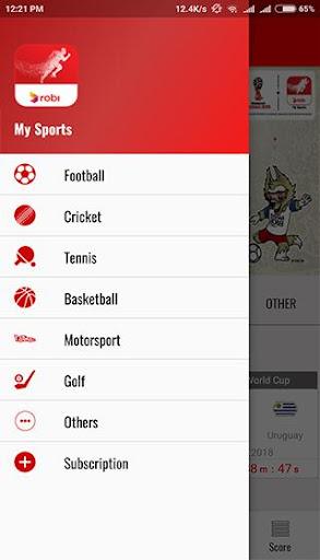 Robi MySports apktram screenshots 2