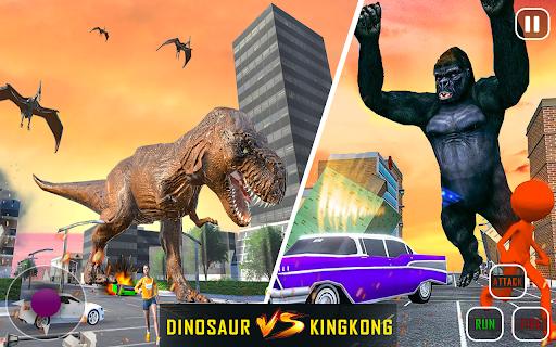 Extreme City Dinosaur Smash Battle Rescue Mission  screenshots 1