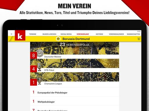 kicker Fußball News  screenshots 15