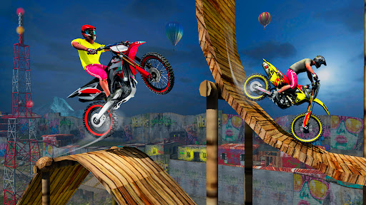 Stunt Bike 3D Race - Bike Racing Games apkpoly screenshots 11