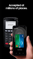 screenshot of Samsung Pay