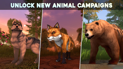 Wolf Tales - Online Wild Animal Sim 200198 screenshots 5