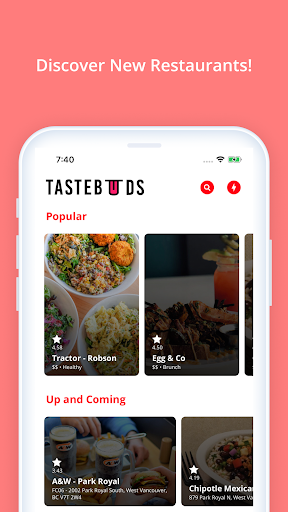 Tastebuds 2.0.8 screenshots 1