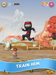 Clumsy Ninja MOD (Unlimited Coins/Gems) 2
