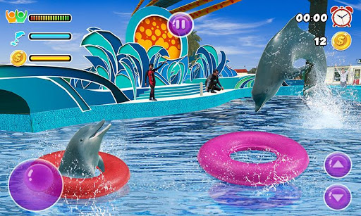 Dolphin Water Stunts Show  screenshots 1