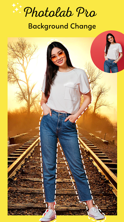 Photo Lab Pro : Background Changer & Photo Editor poster 1