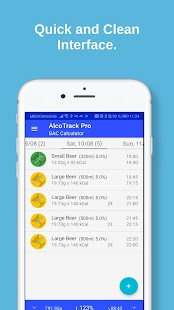 AlcoTrack: BAC Calculator & Alcohol Tracker Screenshot