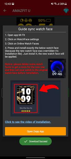 Amazfit Bip/U/U-Pro - Watch Face apktram screenshots 3