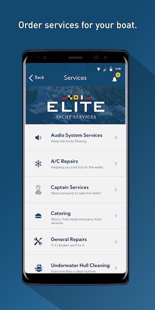 Elite Yacht Services screenshot 1