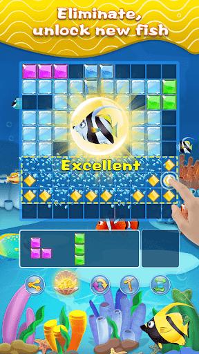 Block Puzzle & Fish - Free Block Puzzle Games  screenshots 4