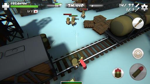 Mini Soldiers: Battle royale 3D 1.2.123 screenshots 23