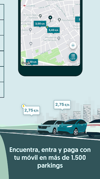 Captura 4 de ElParking - Parquímetro, parkings, telepeaje y más para android