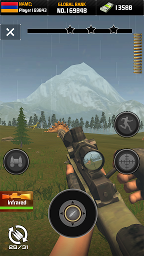 Wild Hunter: Dinosaur Hunting apkslow screenshots 3