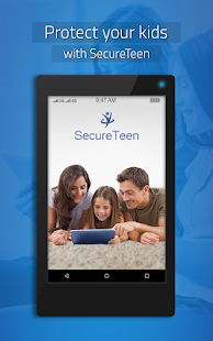 SecureTeen Parental Control App Screenshot