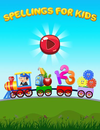 Learn English Spellings Game For Kids, 100+ Words. apktreat screenshots 1
