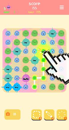 マージパズル バクテリアヒーローのおすすめ画像1