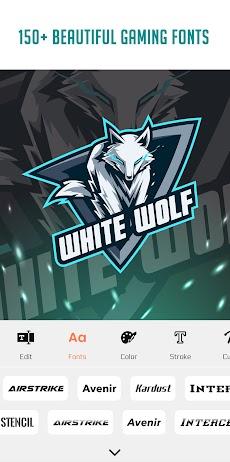 Esport Gaming Logo Maker - bマスコットアバタークリエーターのおすすめ画像3