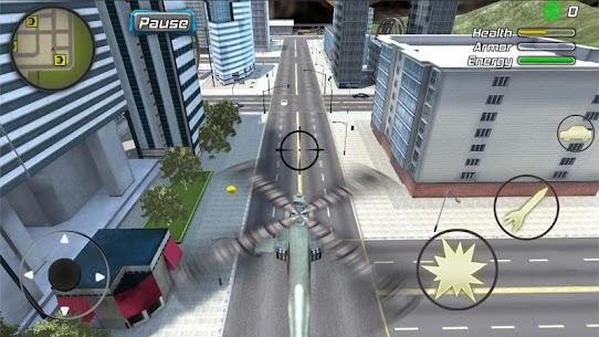Crime Angel Superhero Mod Apk- Vegas Air Strike (Unlimited Energy) 7