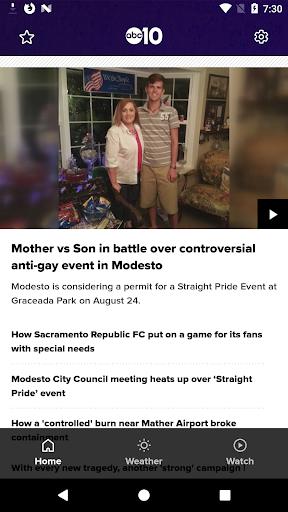 Northern California News from ABC10 42.9.18 screenshots 1