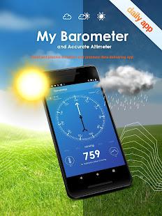 My Barometer and Altimeter - Accurate Pressure