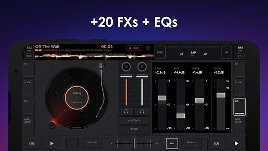 edjing Mix Mod Apk- Free Music DJ app (Pro Unlocked) 4