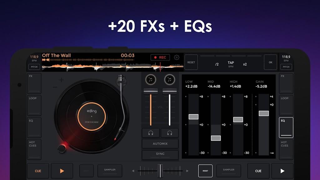 edjing Mix - Free Music DJ app  poster 3