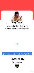 Abey Saale Stickers WAStickerApps 1.6.3
