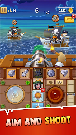Pirate Bay - action pirate shooter. Aim and shoot apklade screenshots 2