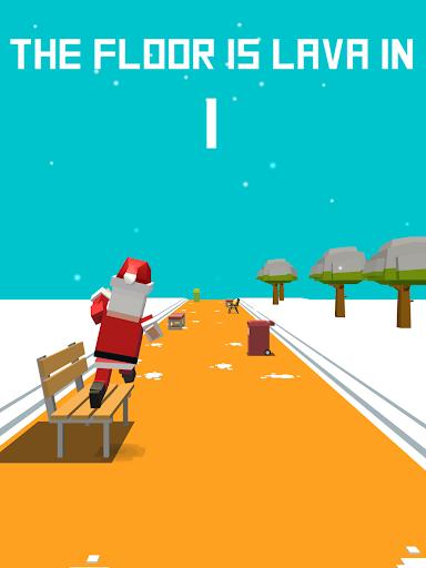 Xmas Floor is Lava !!! Christmas holiday fun ! Apkfinish screenshots 15