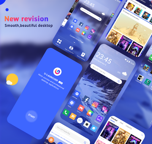 U Launcher Lite-New 3D Launcher 2020, Hide apps 2.2.40 Screenshots 1