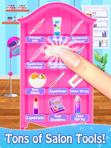 Salon Games for Girls: Spa Makeover Day  screenshots 12