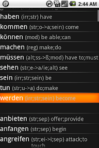 German Verbs Pro 1