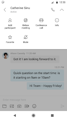 Cisco Jabber modavailable screenshots 4