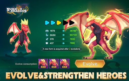 Summon Dragons 1 screenshots 7