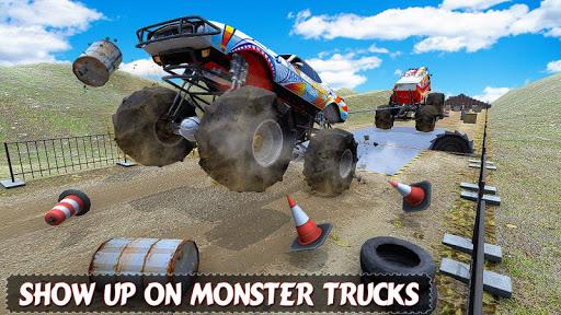 Trucks Tug of war: Monster Pull Match  screenshots 1
